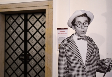 Slavnostní otevření Galerie Felixe Holzmanna v přízemí litoměřické radnice na Mírovém náměstí