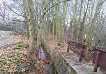 Náhon u opuštěného mlýnu