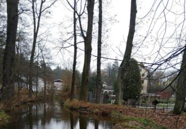 Okolí opuštěného mlýnu