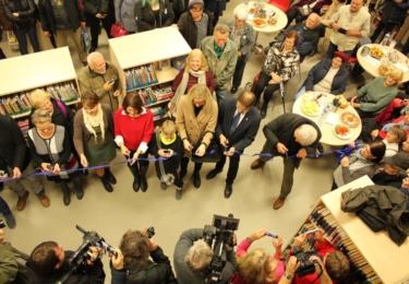 Slavnostní otevření nové pobočky Městské knihovny Antonína Marka Turnov, foto město Turnov