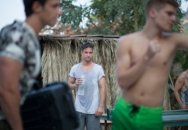 Vladimír Polívka v novém filmu Do větru, který se natáčel z větší části v Řecku