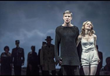 Vladimír Polívka s kolegyní Štorkovou v Manon Lescaut, foto Facebook Činohry ND