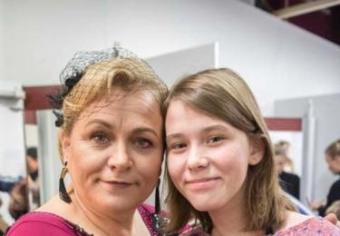 S dcerou Anežkou. Foto Facebook