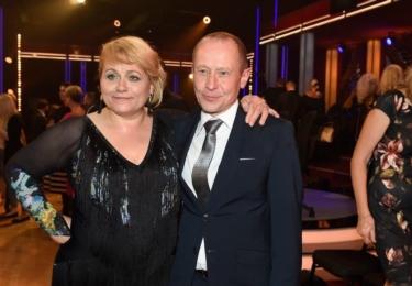 S manželem, hercem Ondřejem Malým, kterého proslavil Špačkův film Pouta. Foto Facebook