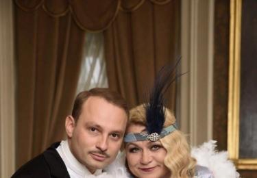 Ve StarDance s Markem Dědíkem. Foto ČT