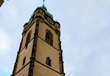 Vyhlídková věž kostela svatého Petra a Pavla