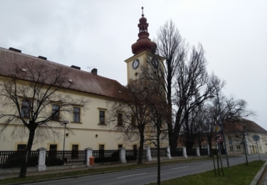 Bývalý zámek, dnes cukrovar a muzeum