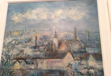 Obrazy z historie Dobrovice mají i na radnici