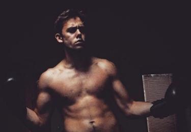 Vincent Navrátil začal boxovat, foto Instagram