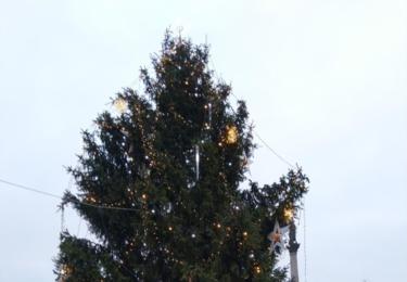Vánoční strom na náměstí