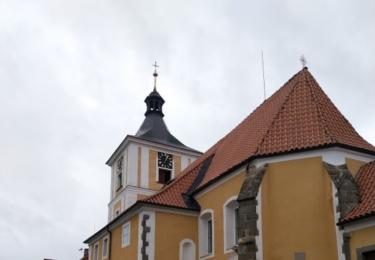 Kostel v Kostelci nad Vltavou