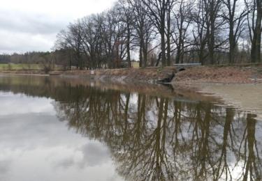 Rybník Silvestr se svými kameny