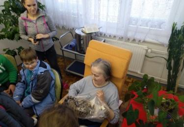 Předávání dárku