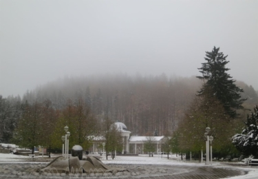 Mariánské Lázně v zimě, foto marlazne.cz / Daria Zarubinskaya