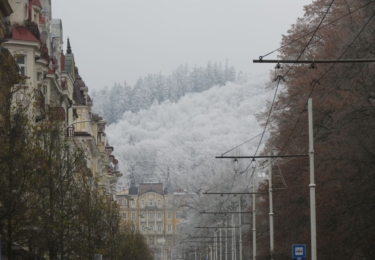 Mariánské Lázně v zimě, foto marlazne.cz / Miroslava Lábková