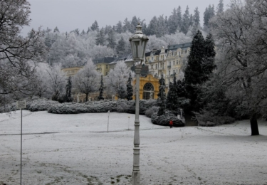 Mariánské Lázně v zimě, foto marlazne.cz / Natálie Hanzlíková