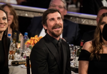 Christian Bale, foto Golden Globe
