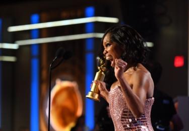Regina King, cena za nejlepší vedlejší ženskou roli, foto Golden Globes