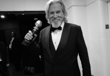 Jeff Bridges. Je to doma, foto Golden Globe