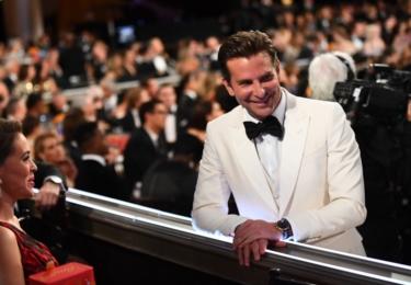 Bradley Cooper skončil jen u nominace, foto Golden Globe