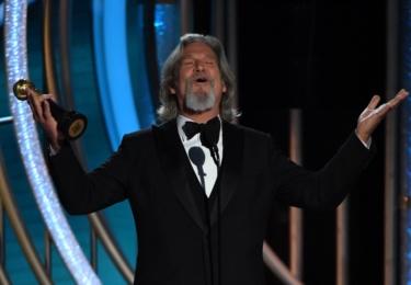 Jeff Bridges dostal cenu Cecila DeMilla, foto Golden Globe