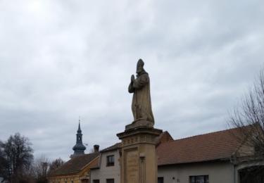 Socha svatého Jiljí