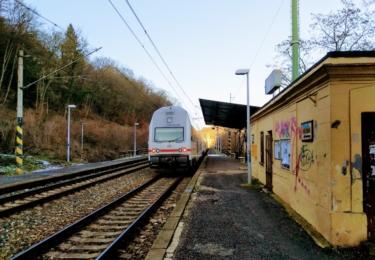 Vlak u Berouna