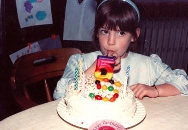 A tady jsou páté narozeniny ještě malé Anne, foto Facebook