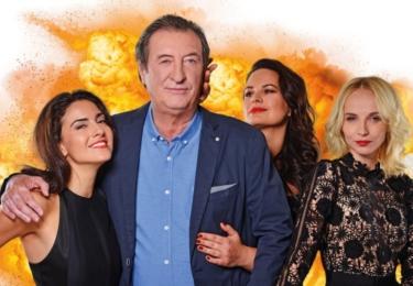 Lucia Siposová, Bolek Polívka, Jitka Čvančarová, Jana Plodková, foto FTV Prima