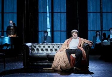Jako Oblomov v Divadle v Dlouhé, foto DvD / Facebook