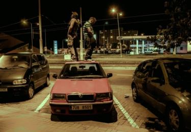 Eda a Luďan vyrazili na pánskou jízdu ve velkém stylu.... MOST!, foto ČT