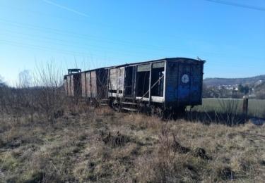 Opuštěné a zapomenuté vagóny