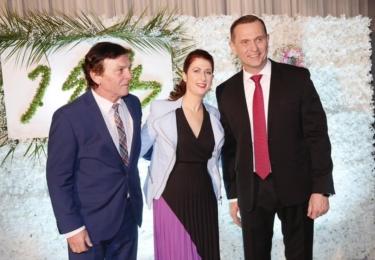 Soukupovy padesátiny: S princem Trávníčkem, foto Facebook