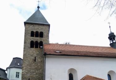 Kostel nanebevzetí Panny Marie v Neustupově