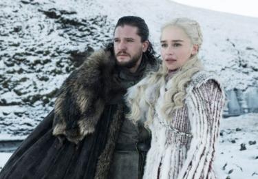 John Sníh a Daenerys Targaryen, foto HBO