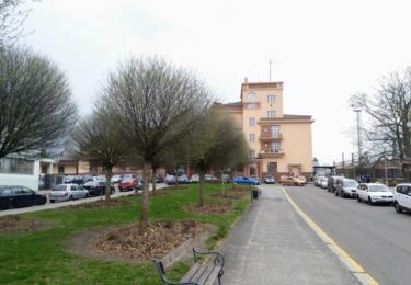 Parčík před nádražím