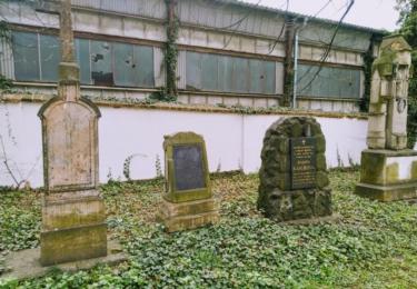 Dříve hřbitov, nyní park