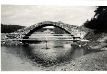 Tak takto Švédský most vypadal