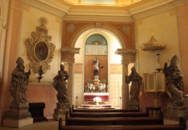 Kaple, ve které žil skladatel a poustevník Václav Karel Holán