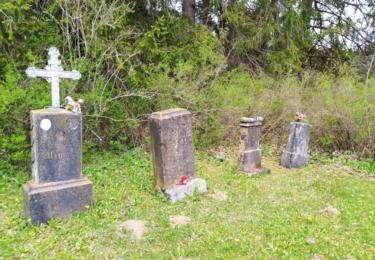 Bývalý hřbitov v Cudrovicích