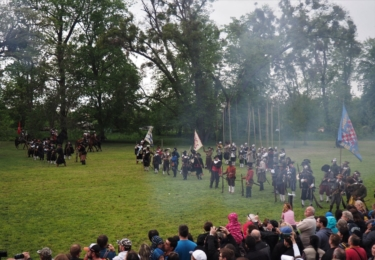 Historická bitva v Kroměříži 11. května, foto Facebook / Biskupští manové z Kroměříže