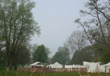 Tábor se probouzí