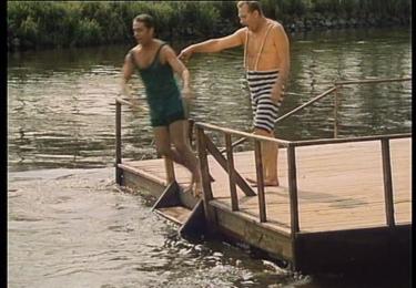 Vlastimil Brodský a Rudolf Hrušínský, foto repro z filmu