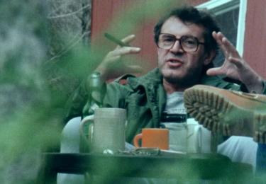"""""""Svoboda. Já vlastně nevím, co to ta svoboda je. Je to zvláštní slovo. Takové slovo z hlíny. Každý si ho hněte tak, jak se mu to hodí."""" Miloš Forman v dokumentu, foto ČT"""
