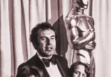 """""""Dokonalé štěstí je podle mě možnost o štěstí svobodně usilovat."""" Miloš Forman v dokumentu, foto ČT"""