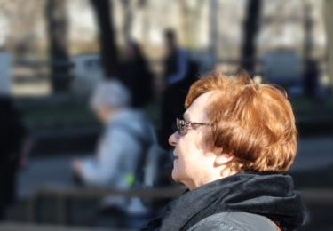 Kurz digitální fotografie si senioři užili, foto Praha 5
