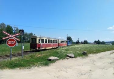 Odjíždějící vlak