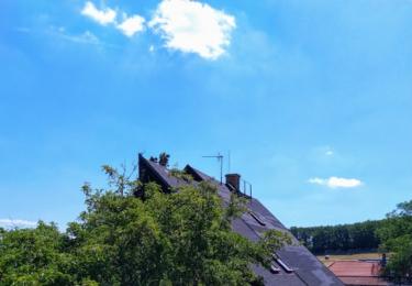 Dům, kde vraždě došlo, foto René Flášar