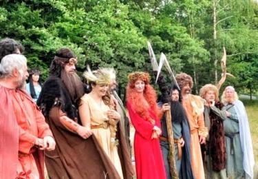Natáčení valašské pohádky Největší dar, foto Facebook