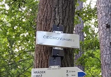 Rozcestník u Čechova
